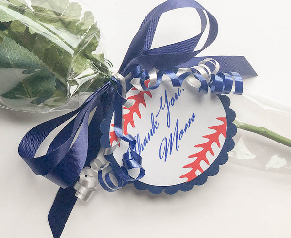 Senior Night  Baseball Rose Bouquet - Custom Colors