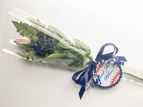 baseball rose bouquet senior night