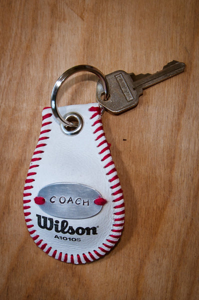 Personalized Baseball Key Chain