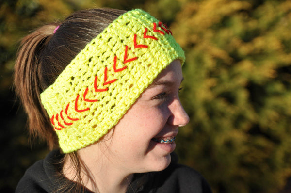 Softball Head Band - SportzCrazyMama
