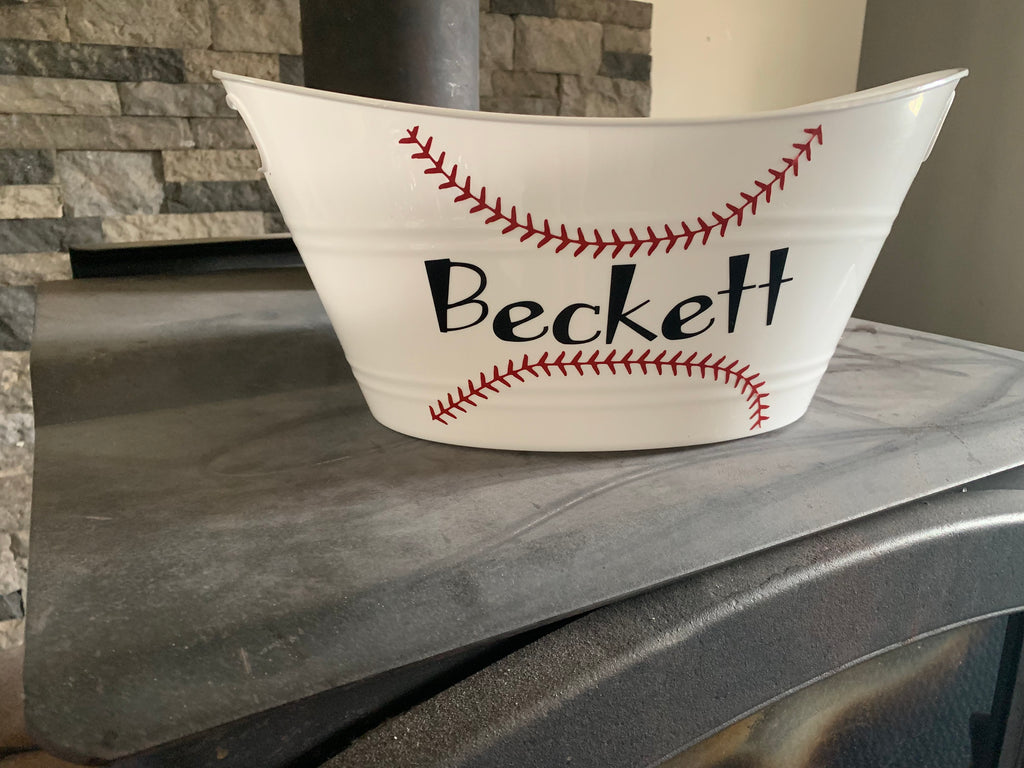 Baseball Easter basket