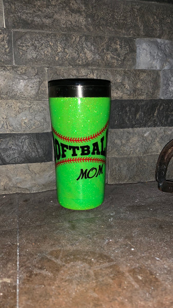 Softball Mom/Dad, Baseball Mom/Dad Tumbler 32 oz.