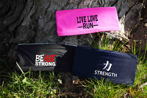 Fitness headband, Live Love Run, BEastSTRONG, Strength