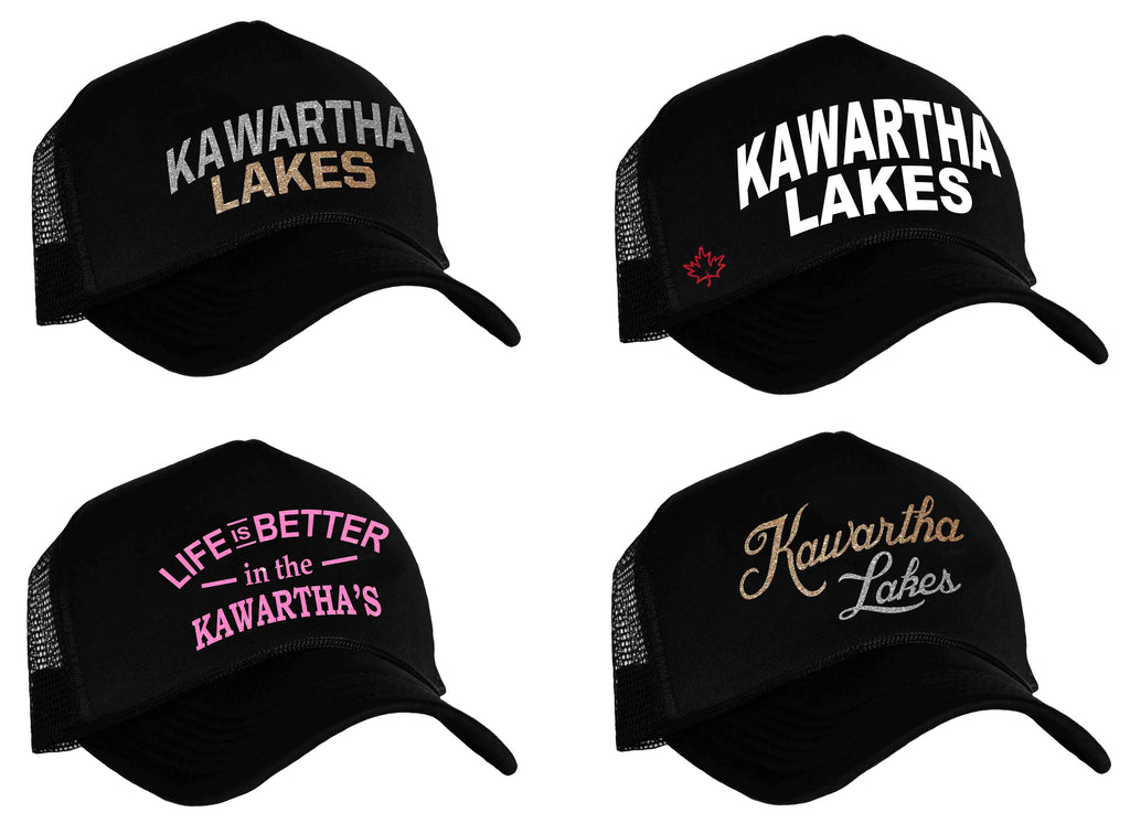Kawartha Lakes Snapback Trucker Hats
