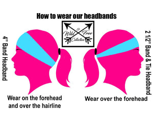 how to wear our headbands