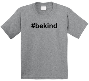 #Bekind children's graphic t-shirt for anti bullying