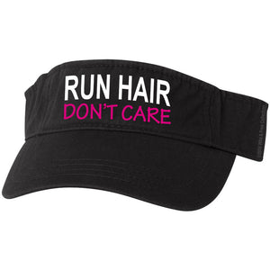 Running visor hat Run Hair Don't care