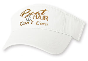 Boat Hair Don't Care Visor Hat