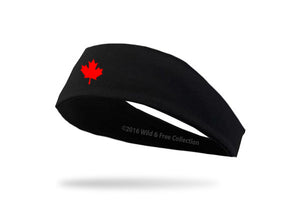 Canada Maple Leaf Headband