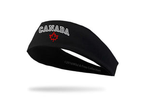 Canada graphic headband for running, weightlifting, sports