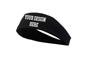 Custom Graphic Headband designed with your logo or phrases.
