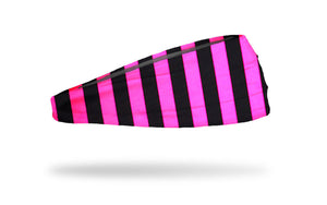 Hot Pink Stripes Headband