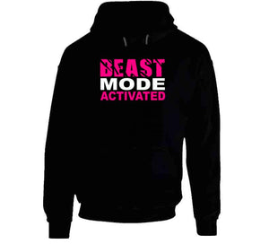 Beast Mode Activated Hoodie Black