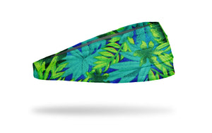 tropical print headband, vacation headband, beach headband, yoga headband