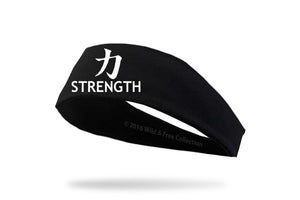 workout graphic headband strength