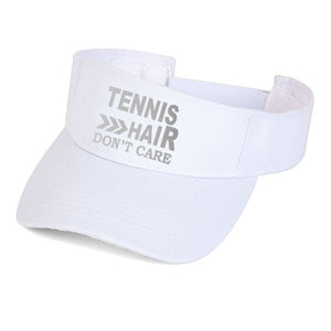 tennis visor, tennis hair don't care hat