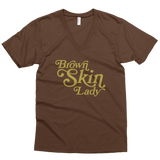 Brown Skin Lady V-Neck