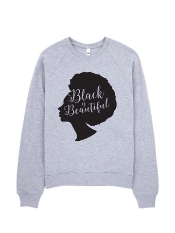 Bon Bon Vie Black Is Beautiful 2.0 Sweatshirt Heather Gray