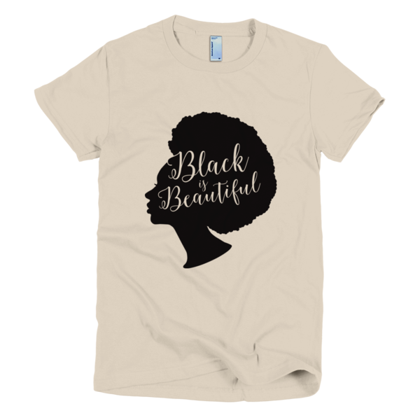 Bon Bon Vie Black Is Beautiful 2.0 T-Shirt Creme