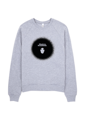 Bon Bon Vie Black Is Beautiful Sweatshirt Heather Gray