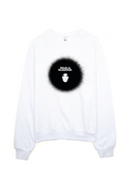 Bon Bon Vie Black Is Beautiful Sweatshirt White