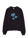 Bon Bon Vie Diamond Life Sweatshirt Black