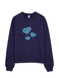 Bon Bon Vie Diamond Life Sweatshirt Navy