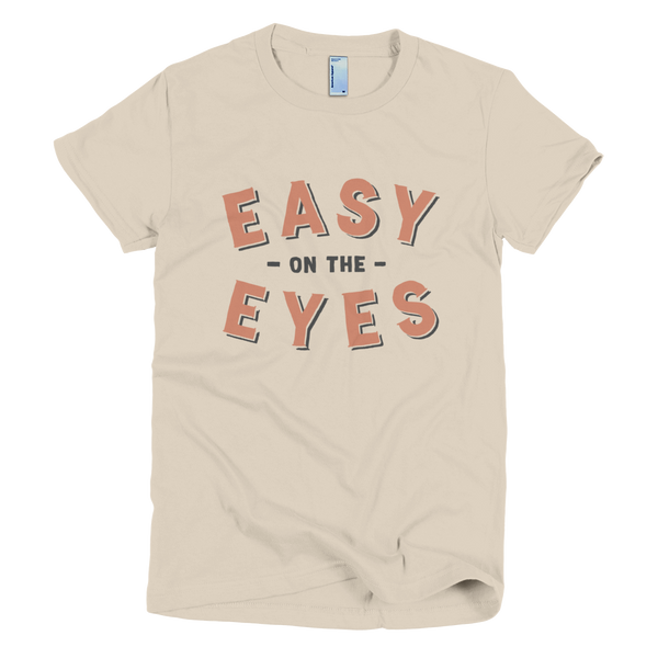 Bon Bon Vie Easy On The Eyes T-Shirt Creme