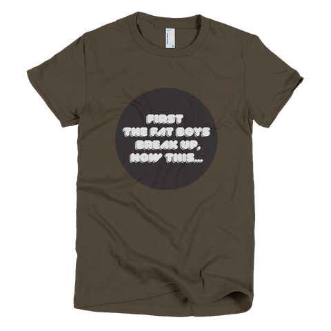 Bon Bon Vie Fat Boys T-Shirt Brown