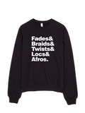 Bon Bon Vie Hair Envy Sweatshirt Black