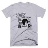 Bon Bon Vie Retro Chic T-Shirt Heather Gray