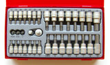 Teng Tools 35 Piece Socket/Bit Set In Tray Tool control system - TTBS35