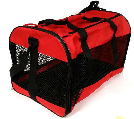 CAT DOG ANIMAL PORTABLE COLLASPSIBLE TRAVELLING CARRIER BAG FOR TRANSPORTING - Xtremeautoaccessories