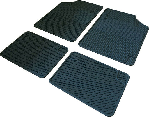 Universal Large Heavy Duty Rubber Mats Ford Escort Classic Turnier 1999-2000 - Xtremeautoaccessories