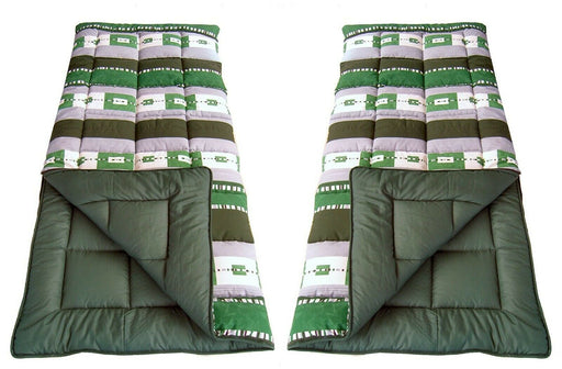 2x 4 Seasons Symphony King Size Sleeping Bag 450g/m² Caravan Camping Tent Travel - Xtremeautoaccessories
