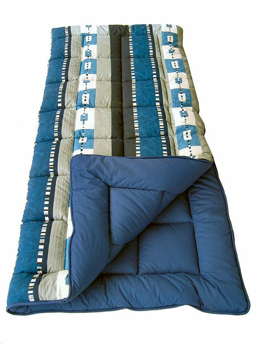 4 Seasons Expression Super King Size Sleeping Bag 600g/m² Caravan Camping Hiking - Xtremeautoaccessories
