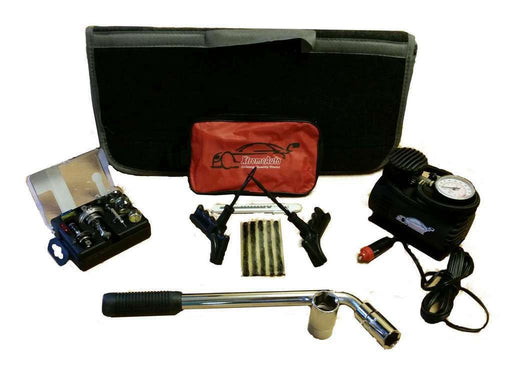 EMERGENCY BREAK DOWN KIT - GIFT PACK PRESENT BUNDLE, COMPRESSOR, REPAIR KITS - Xtremeautoaccessories