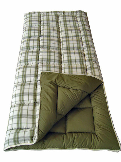 4 Seasons Liberty Super King Size Sleeping Bag 600g/m² Caravan Camping Hiking - Xtremeautoaccessories