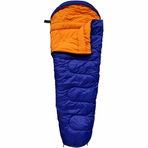 Junior Childs Camping Outdoor Sleeping Bag Mummy Style Shape Comfortable Warm - Xtremeautoaccessories