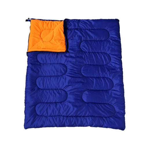 Double, Couple Camping/Caravan Outdoor Sleeping Bag Extra Room Warm Comfortable - Xtremeautoaccessories