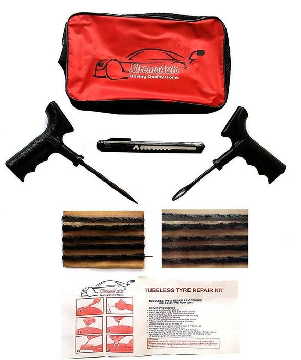 Universal Tubeless Tyre Tire Puncture Repair Kit Ford Tourneo Connect 2002-2016 - Xtremeautoaccessories