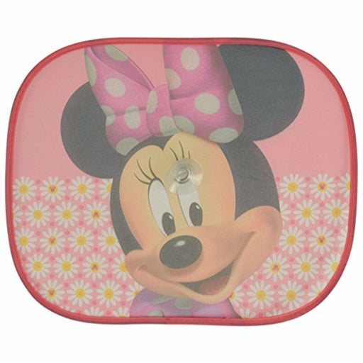 Disney Pixar Side Car Sun shade X2 Minnie Mouse UV Protection for Children - Xtremeautoaccessories