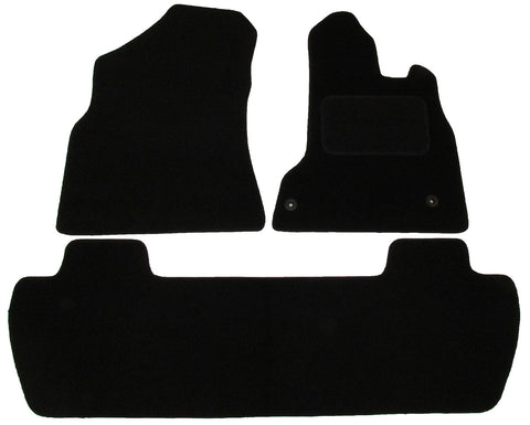 Exact Fit Tailored Car Mats Citroen Berlingo Multispace (2008-Onwards)