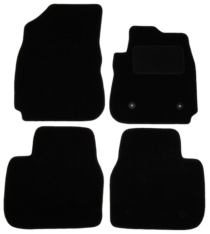 Exact Fit Tailored Car Mats Citroen Cactus [With 2 Clips] (2014-Onwards)