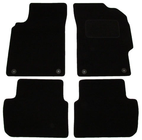 Exact Fit Tailored Car Mats Chevrolet Spark [With 4 Clips] (2013-Onwards)