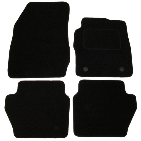 Exact Fit Tailored Car Mats Ford Fiesta Mk7 [New Fixings] (2011-Onwards)