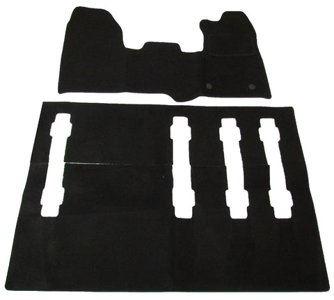 Exact Fit Tailored Car Mats Ford Transit Crew Cab (2013-Onwards)