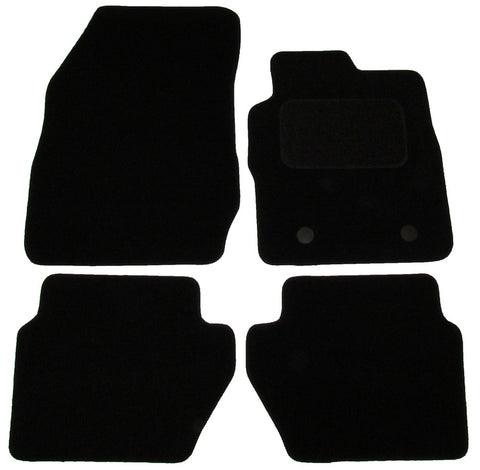 Exact Fit Tailored Car Mats Ford Eco Sport [With 2 Clips] (2013-Onwards)