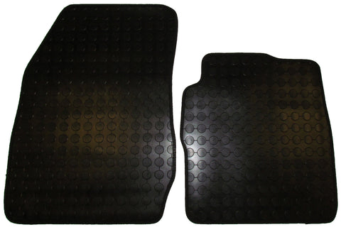 Exact Fit Rubber Tailored Car Mats Ford Fiesta Van (2008-Onwards)