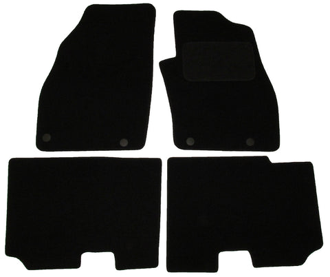 Exact Fit Tailored Car Mats Fiat Punto [With 4 Clips] (2012-Onwards)